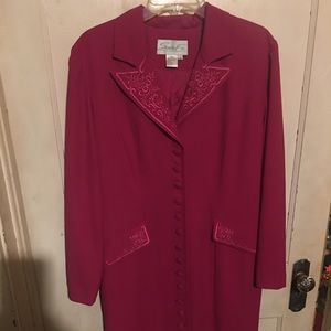 Embroidered Santa Fe Dress Size 12 lined